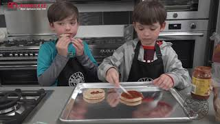 #EveryKidHealthyWeek - Funny Face Pizza
