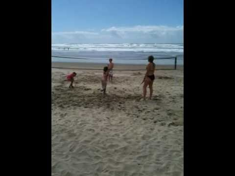 Cannon beach fun13 Video