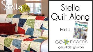 Stella Quilt Along part 1