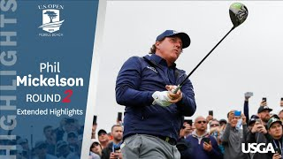 2019 U.S. Open, Round 2: Phil Mickelson Extended Highlights