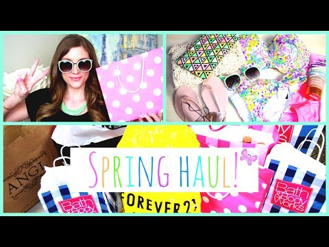 Spring Haul ♥ Fashion, Candles, and More! + Giveaway