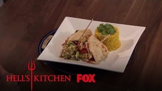 Andrew & Paulie Battle It Out With Mexican-Indian Fusion Dishes | Season 16 Ep. 11 | HELL'S KITCHEN