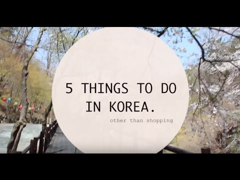5 things to do in Seoul! (Vlog)