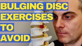Bulging Disc Exercises To Avoid (2020) | L4 L5 Disc Bulge Dr. Walter Salubro Chiropractor In Vaughan