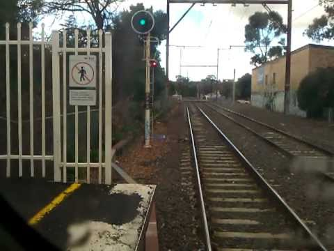Drivers View: Darebin To Macleod On A Hitachi Train...