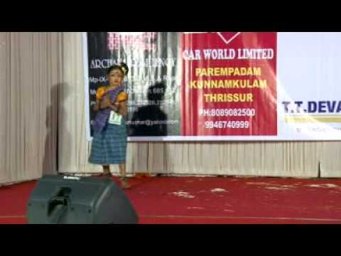 Folk Dance( Karivala) Malayalam{nirenjana Unni} video