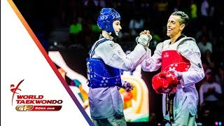 Roma 2018 World Taekwondo GP -Final [Male -58Kg] ARTAMONOV, MIKHAIL(RUS) Vs NAVARRO, CARLOS(MEX)