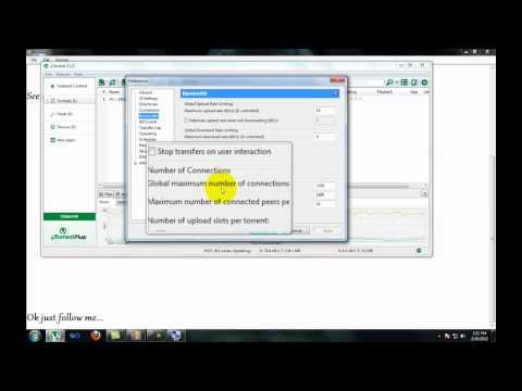 How to make Utorrent 3.1.2 Version Super Fast (100 % Works) 2012.