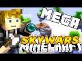 """download Minecraft Mega Skywars! """"100 PLAYERS!"""" w/KenWorth & PrestonPlayz"""