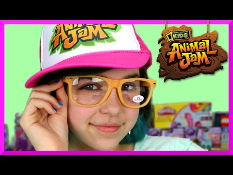 Present Opening From Animal Jam Cool Swag Surprise Package Unboxing