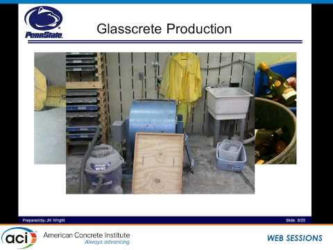 Proportioning and Performance Evaluation for Concrete with Recycled Glass Fine Aggregates