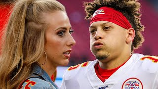 "Patrick Mahomes' GF & Brother Moved to a ""SAFE PLACE"" After Being Harassed by Patriots Fans!"