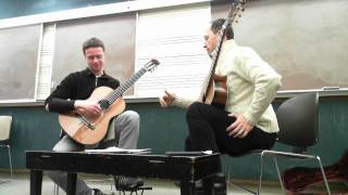 Denis Azabagic teaches Asturias by I.  Albeniz