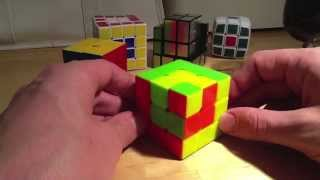 Rubik's Cube Pattern's - Cube in a Cube in a Cube - 3x3x3 Patterns