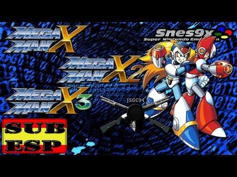 Descargar megaman X saga español snes
