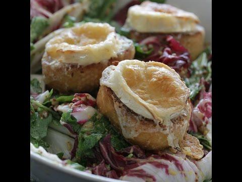 Рецепты салатов из козьего сыра