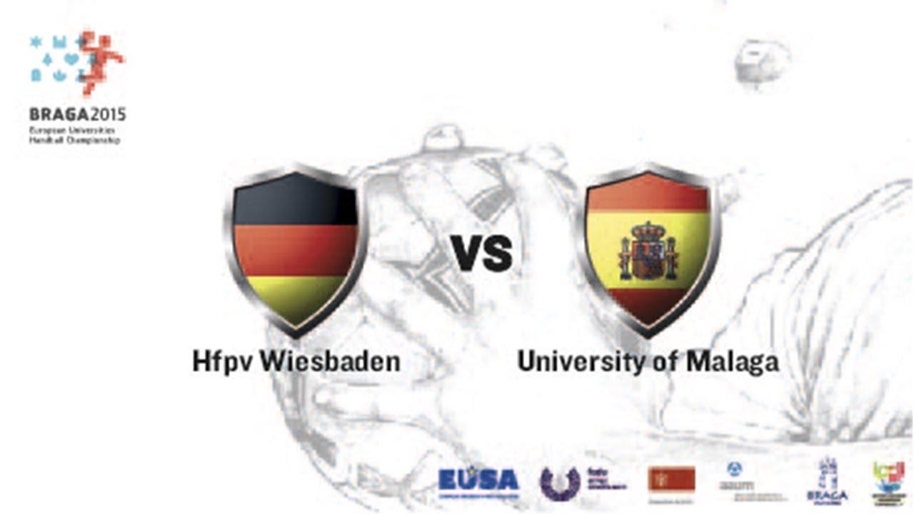 HfPV Wiesbaden vs U. Malaga | Female | Group A | UMinho Sports Hall