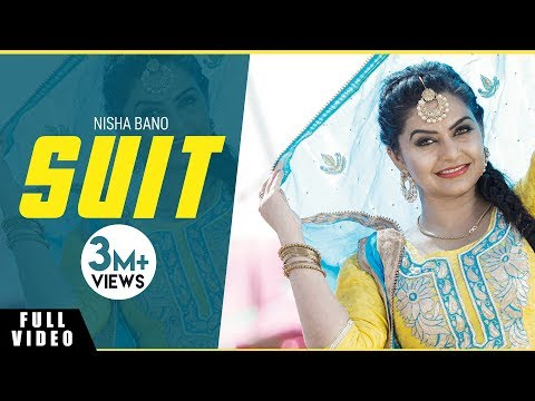 Nisha Bano | Suit | Full Song | Bunty Bains Productions |