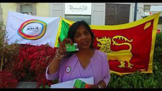 dhammika chandrasekara election campaign (2021 milano)