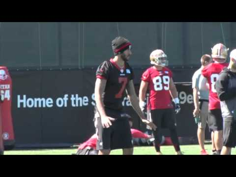 Watch Colin Kaepernick's day of work with the 49ers