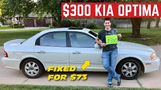I BOUGHT Kia's Ultimate Luxury Car For $300 And Fixed It For $73