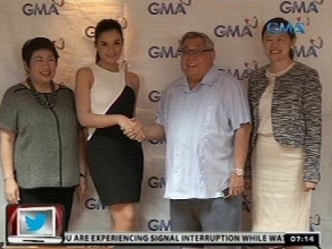 Yasmien Kurdi At Max Collins, Pumirma Ng Exclusive Contract Sa Gma Network video