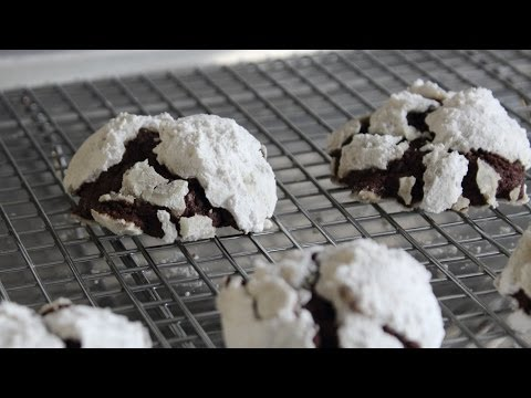 Chocolate Snowcap Cookies - Classic Holiday Cookie Recipe