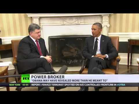 BBC Silent - Obama admits he started Ukraine revolution