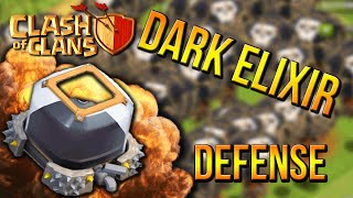 """NO DARK ELIXIR STOLEN!"" - Town Hall 7 DEFENSE STRATEGY (CoC TH7) BEST Defense Base 2015"