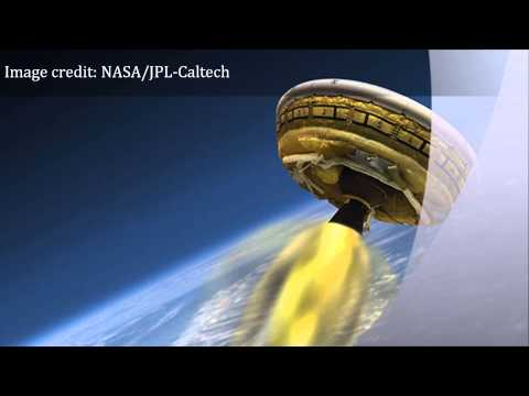 NASA to test Mars 'flying saucer' on Earth today