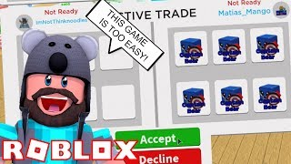 ONE TRADE BROKE THE GAME FOR ME!! | Magnet Simulator | ROBLOX