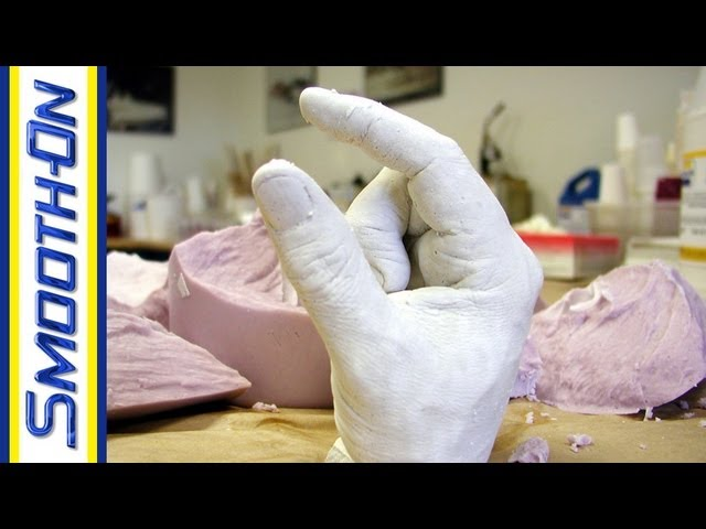 Lifecasting Tutorial: How to Make a Mold of Your Hand with Alginate