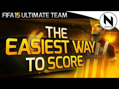 THE EASIEST WAY TO SCORE! - FIFA 15 Ultimate Team