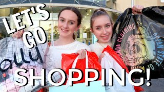 HUGE SHOPPING SPREE!  *come shop with me shopping haul, vlog at mall*