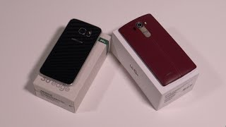مقارنة بين جهاز LG G4 vs Samsung Galaxy S6 Edge