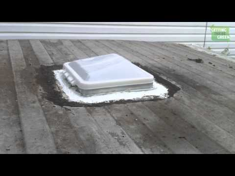 Remove and Replacing Trailer Roof Vent - Camper Trailer Series - Part 10