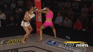 Fight of the Week: Sabina Mazo Takes on Linsey Williams at LFA 32