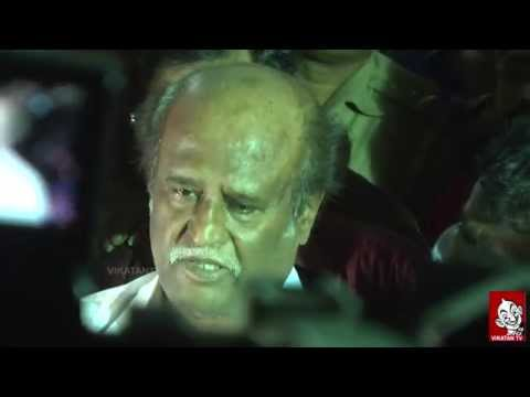 Rajnikanth Pays Tribute to K Balachander With Tears