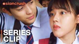 My classmate might be dating our teacher? | Clip from 'Sweet Revenge'