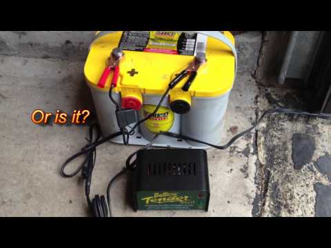 How to Charge & Restore a Car Battery Using a Battery Tender Plus