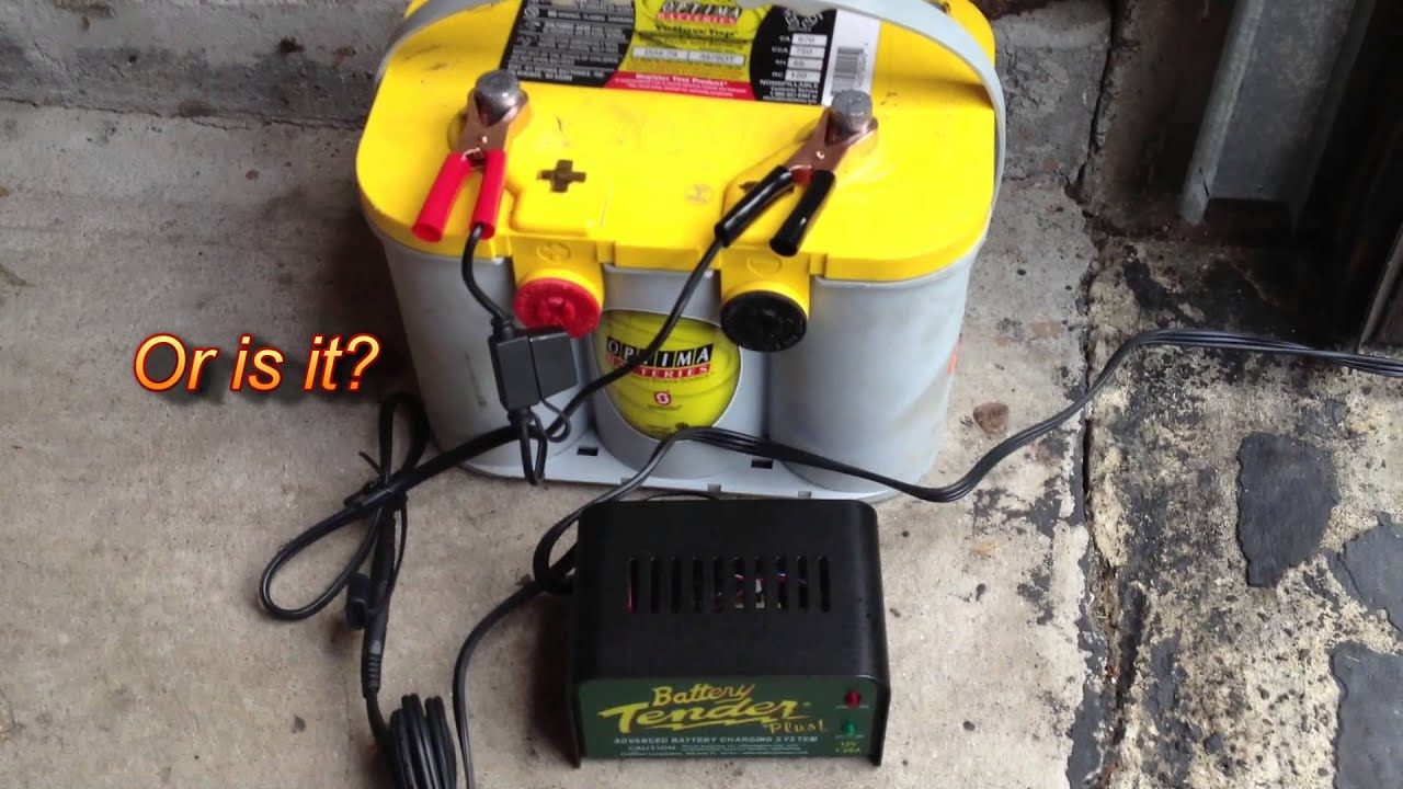 How to Charge & Restore a Car Battery Using a Battery ...