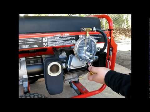 Installation of tri-Fuel conversion kit from US Carburetion