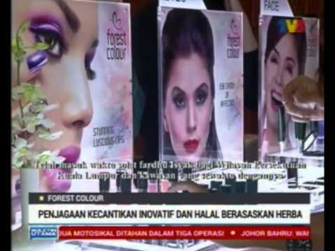 Forest Colour featured on TV3 Bulletin Utama