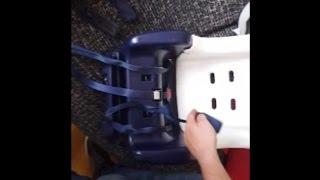Montaje correas Chicco Artsana Silla Coche Bebe (Mounting Baby Car Seat Belt)