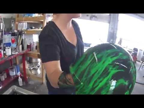 Hydro Dipping a Hard Hat