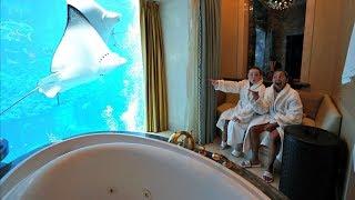 $20,000 UNDERWATER HOTEL ROOM TOUR!!