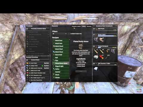 Plate Armor H1z1 H1z1 How to Make Body Armor