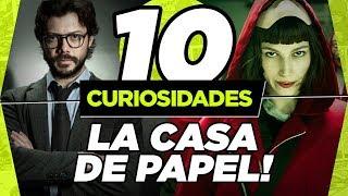 10 CURIOSIDADES SOBRE LA CASA DE PAPEL! (SPOILERS)