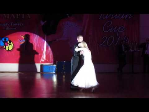 Алматы, Tarlan Cup 2014, Жарков / Куликова (1)
