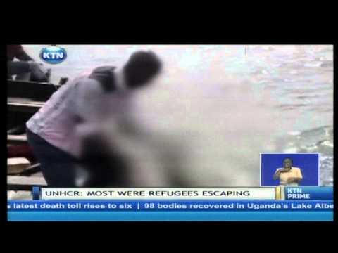 Death toll in Uganda's Lake Albert boat tragedy rises to over one hundred